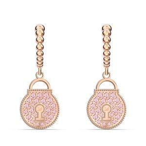 Swarovski TOGETHERNESS orchid earrings